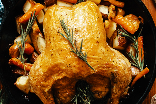 One Pot Roast Chicken A La Julia Child Dollop Online